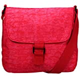 ARTSAC - Zip Top Flap Fronted Reef Fabric, Shoppers y bolsos de hombro Mujer, Rojo (Red), 240x200x120 cm (W x H L)