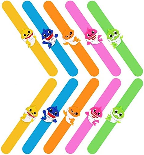 Bsstr Beauty products 10 Pcs Our shop OFFers the best service Shark Silicone Slap Ban Baby Bracelets