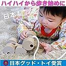▶︎六輪車(ミニ)ハイハイから歩き始めの木のおもちゃ 知育玩具 日本グッド・トイ受賞