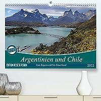 Argentinien und Chile - vom Regenwald bis FeuerlandAT-Version (Premium, hochwertiger DIN A2 Wandkalender 2022, Kunstdruck in Hochglanz): Argentinien, Chile und das wunderbare Patagonien (Monatskalender, 14 Seiten )