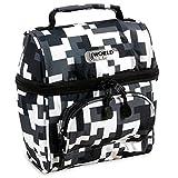 J World Corey Kids Lunch Bag. Insulated Lunch-Box for Women, Camo