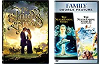Princess Bride and The Never Ending Story 1 & 2 2-DVD Fantasy Bundle