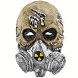WWWL maschera di Halloween Halloween maschera in lattice vecchio uomo maschera in lattice per mascherare Halloween partito bar realistico leggero horror decorazione picturecolor