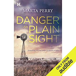 Danger in Plain Sight audiobook cover art
