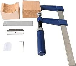 BQLZR DIY Guitar Fingerboard Silk Inlay Fret Press Tool Set and Guitar Fingerboard Wire Inlay Alloy Insert 16 Radian