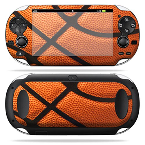 MightySkins Skin Compatible with PS Vita PSVITA Playstation Vita Portable wrap Sticker Skins Basketball