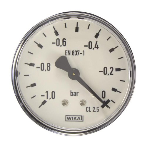 Manometer, NG63, -1-0 bar - WIKA 111.12 - 9083880