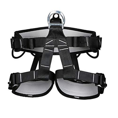 Biddtle Universal Klettergurt Für Herren Und Damen Sicherheitsgurt Absturzsicherung Sitzgurt Zum Klettern Mit Verstellbaren Beinschlaufen