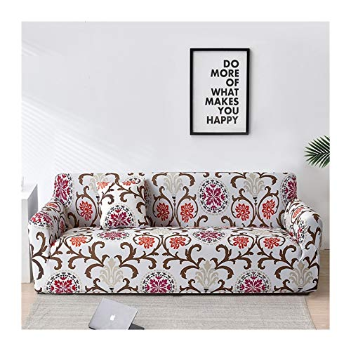 Sofa Covers for Living Room, Elastic funda sofa Sofa Slipcovers Sofa Towel Couch Cover sofas con chaise longue 1PC (Color : Color 9, Specification : 4 seater 235 300cm)