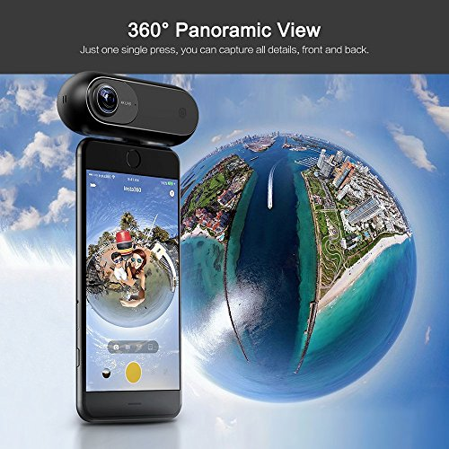 Insta360 INSTA360 One, 360 Grad VR-Kamera für iPhone,Gold - 4