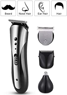 St. Lun KEMEI Hair Cutting Rechargeable Hair Clipper For Men Waterproof Wireless Electric Shaver