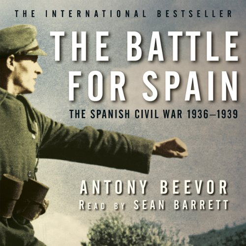 The Battle for Spain audiobook cover art