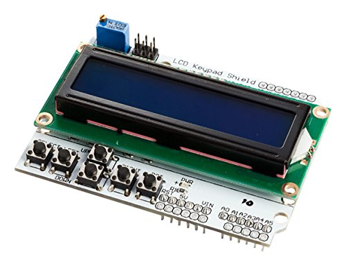 Velleman VMA203 LCD and Keypad Shield for Arduino, Multi-Colour