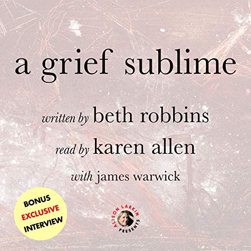A Grief Sublime  By  cover art