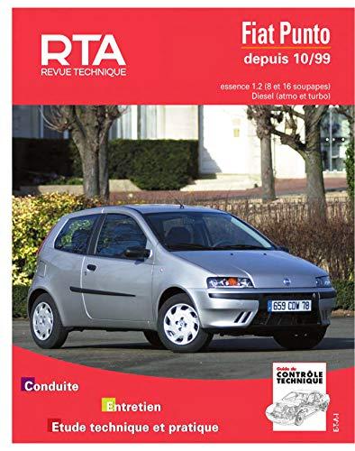 Rta 739.1 fiat punto essence et diesel depuis 10/99