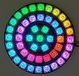 DIGI-DOT SET: 2 ANILLOS CON BOTÓN + 47 X WS2812B-LEDS