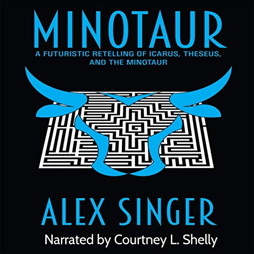 Minotaur audiobook cover art
