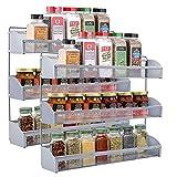 Estanterías organizadoras de condimentos