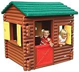 Little Tikes 486900070 - Spielhaus Blockhütte XXL