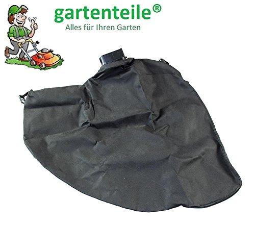 gartenteile Laubsauger Fangsack passend für Grizzly ELS 2200 Elektro Laubsauger Laubbläser. Auffangsack für Laubsauger mit eckigem Anschluss und Reißverschluss zum entleeren.