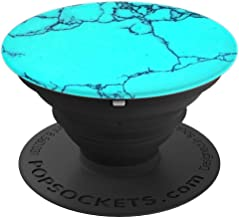 Beautiful Natural Turquoise Gemstone - PopSockets Grip and Stand for Phones and Tablets