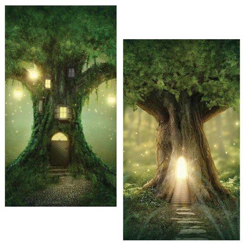 World Buyers Decorative Matches, Set of 2 Boxes, Tree House