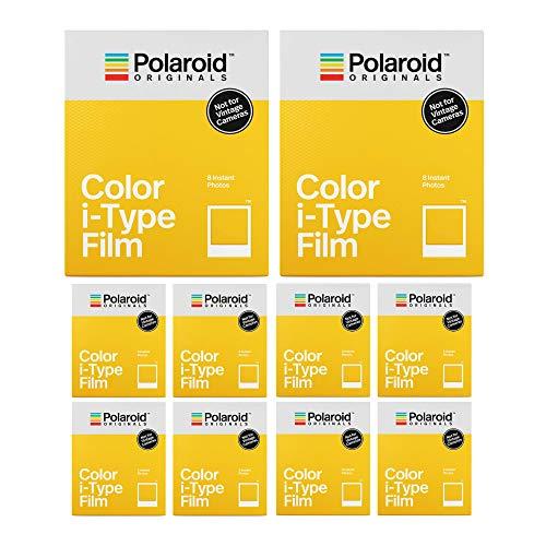 Polaroid Originals Standard-Farb-Sofortbildfilm für i-Typ-Kameras (80 Belichtungen)