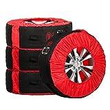 HEYNER 735100 Reifentaschen Reifen Aufbewahrung 4 Stück 16-22 Zoll