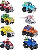 PAW PATROL 6059296 - Pack de 8 vehículos metálicos de Juguete para niños de la Patrulla Canina,...