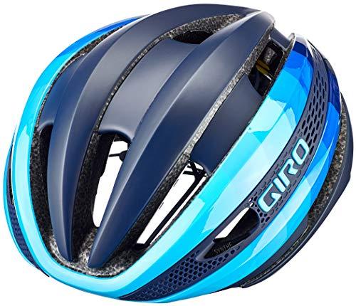 Giro Synthe MIPS Casco de Ciclismo Road, Unisex Adulto, Gris y Amarillo...