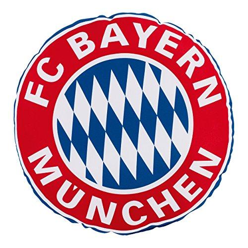 Bayern MÜNCHEN kompatibel Rundkissen Rekordmeister + Sticker München Forever Munich - Kissen Sitzkissen, seat Cushions, coussins de siège, cojines de los asientos