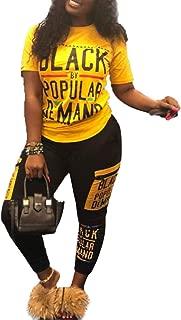 Womens Sexy 2 Piece Sports Outfit Tracksuit Set Shirt Bodycon Pants Joggers Clubwear Sportswear Set