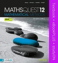 Maths Quest 12 Mathematical Methods VCE Units 3 and 4 & eBookPLUS + StudyOn VCE Mathematical Methods CAS Units 3 and 4 2E