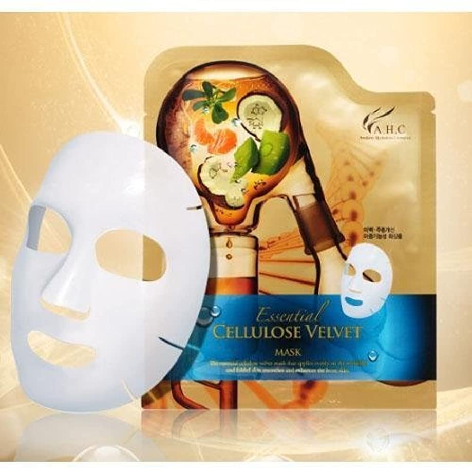 聖人先生一瞬A.H.C Essencial Cellulose Velvet Mask (30g*1EA) [Korean Import]