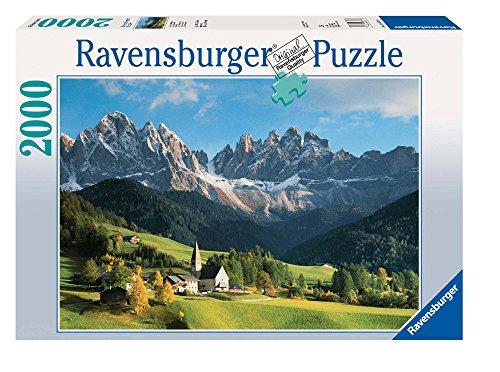 Ravensburger Italy- Dolomiti Puzzle, 2000 Pezzi, Multicolore, 16674
