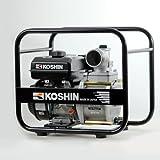 KOSHIN Bomba de agua de gasolina de 3 pulgadas para aguas residuales STV-80X