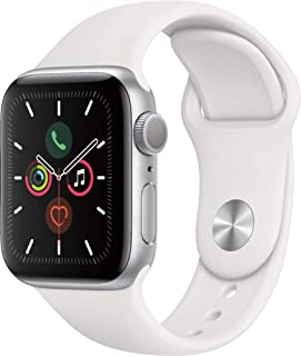 Apple Watch Series 5 GPS (renovado), Correa Deportiva Blanca