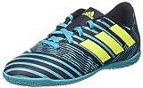 adidas Nemeziz 17.4 In J, Zapatillas de fútbol Sala Unisex niños, Azul (Tinley/Amasol/Azuene), 36 2/3 EU