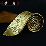 Gift with Chinese Characteristics Chinese Shujin Chengdu Embroidery Gift Tie, Huanglong