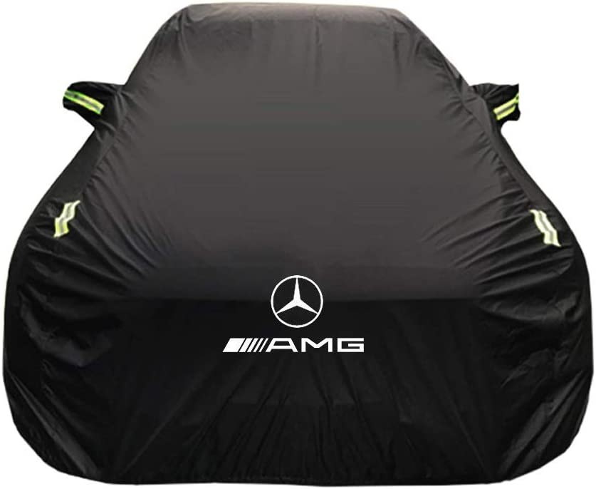 Thick and Cotton Velvet Hood Can Adapt to All Kinds of Weather LLHGYY Car Covers Compatible with Mercedes-Benz Class CLS Color : A, Size : CLS 350 4MATIC
