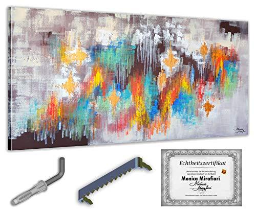 exclusive-gallery I Monica Mirafiori I 140x70 cm I Cuadro pintado a mano I Pintura I Arte moderno