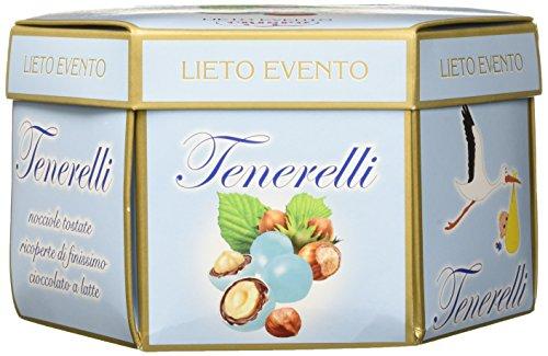 Crispo Confetti Tenerelli Lieto Evento - Colore Celeste - 4 confezioni da 500 g [2 kg]