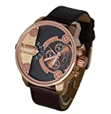 Montre Homme Cadran XXL Double Affichage Only The Brave