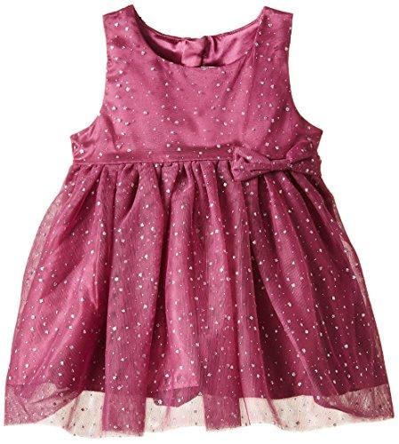 NAME IT Mädchen Kleid Pernille Mini Dress Gr. 86 (Herstellergröße: 86) Violett