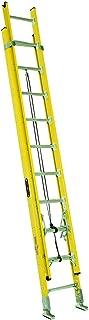 Louisville Ladder FE4228HD Fiberglass Extension Ladder, 28 Feet, 375 Pound Duty Rating