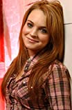 24inch x 37inch/60cm x 92cm Lindsay Lohan Silk Poster Christmas Gift For Family Best Gift For Children