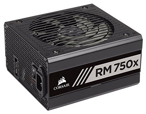 Corsair RM750x Alimentation PC (Modulaire Complet, 750 Watt, 80 PLUS Gold) Noir