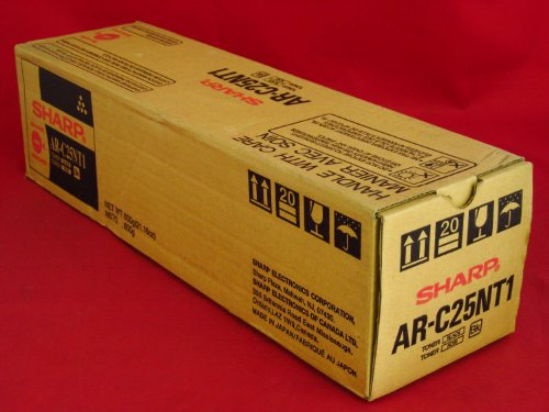 Sharp AR-C16NT1 / AR-C25NT1 - Cartucho de tóner láser para AR-C330, color negro