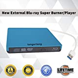 External Blu-ray DVD/BD/CD Drive Portable Blu Ray Burner USB 3.0 External 3D Blu-ray