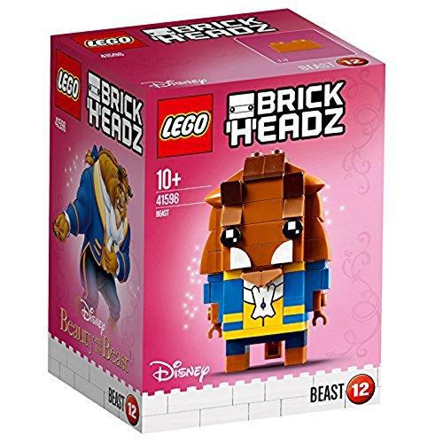 LEGO Brickheadz - Bestia, Juguete de Construcción, Figura Inspirada en la Pelicula de Disney (41596)